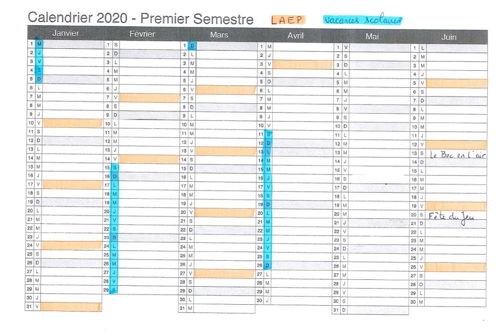 planning-laep-1er-sem-2020
